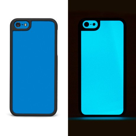 Glow Hard Case // Blue