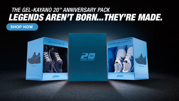 Shop the GEL-Kayano 20 Annivesary Pack - Hero