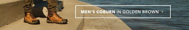 MEN'S COBURN IN GOLDEN BROWN