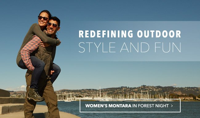 REDEFINING OUTDOOR STYLE AND FUN