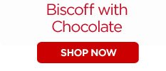 Biscoff with Chocolate - 100 Cookies