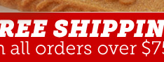 $5 FLAT-RATE SHIPPING on all orders over $39