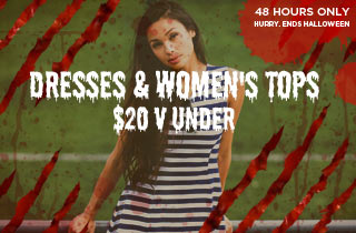 Dresses, and Women's Tops $20 & Under
