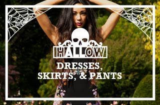 hALLow Dresses,Skirts,& Pants