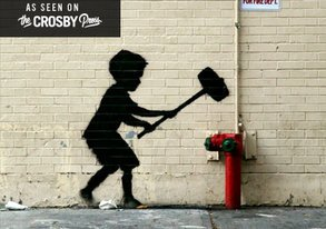 Shop The Only Thing Better Than More Banksy: More Banksy .GIFs!