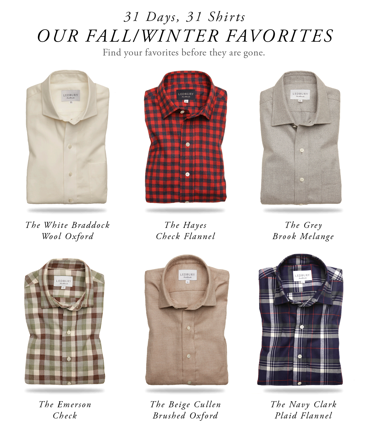 Fall/Winter Favorites