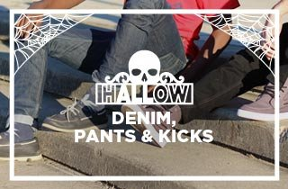 hALLow Denim,Pants & Kicks