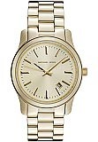 Michael Kors MK5160 Women's Gold Tone Runway Watch