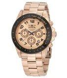 Invicta 10705 Men's Speedway Rose Gold Plated Stainless Steel Chronograph Dive Watch
