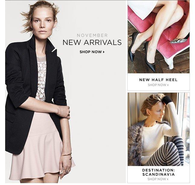Shop New November Arrivals
