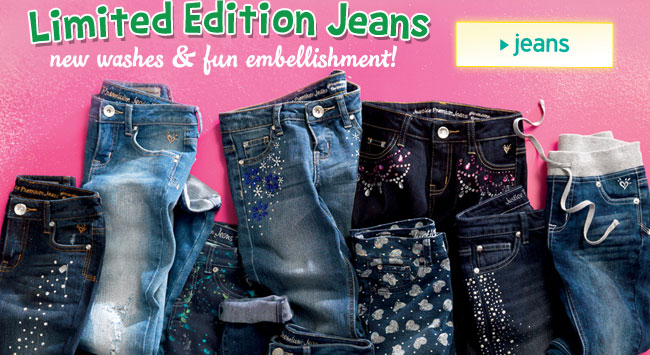 Limited edition jeans