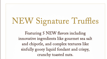 NEW Signature Truffles