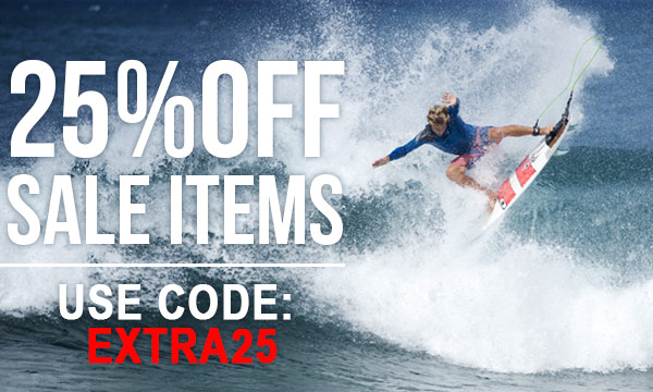 Get an Extra 25% Off Sale Items!