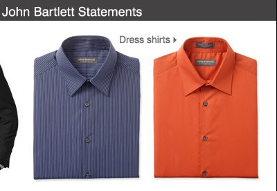 John Bartlett Statements Dress shirts