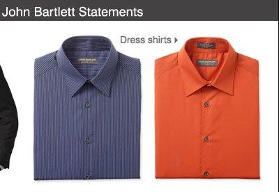 John Bartlett Statements Dress shirts