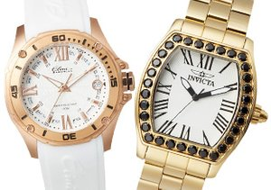 Big Time: Gold-Accented Watches