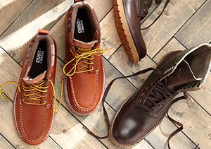 Up to 70% Off: Boots & Chukkas