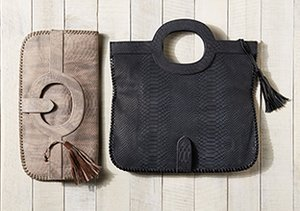 Foldover Clutches & Totes