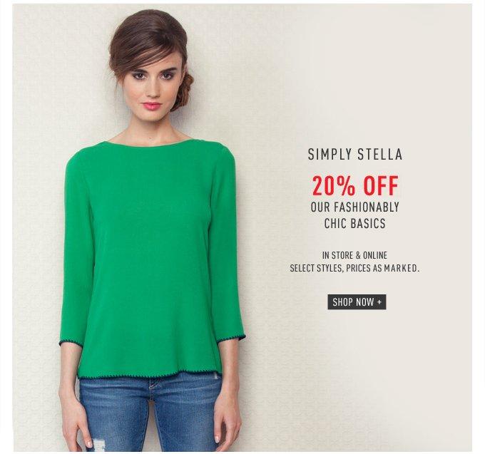 Simply Stella - 20% Off