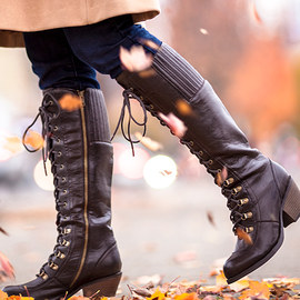 Walk the Walk: Lace-Up Boots