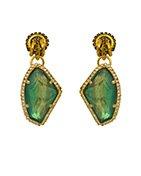 ERICKSON BEAMON - Emerald Garden Party Earring
