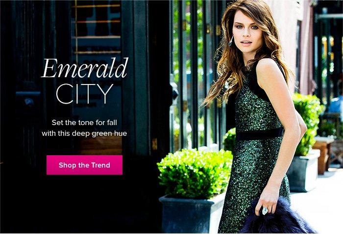 Shop the Emerald Trend