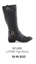 SPURR LORNIE High Boots