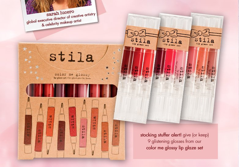 color me glossy lip glaze set