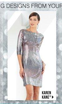 Find more dazzling designs from your favorite brands Karen Kane®