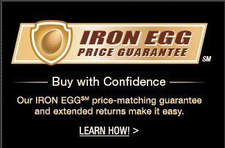 Iron Egg. Buy with configdenc. Our IRON EGG price-matching guarantee and extended returns make it easy.