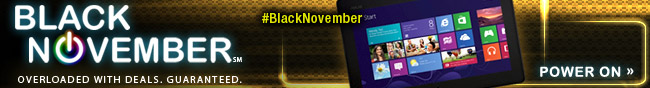 Black November. Power on.