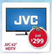 JVC 42 inch HDTV