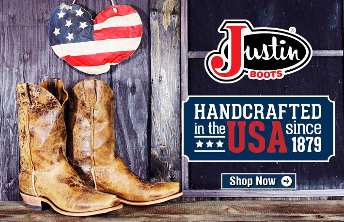 Handcrafted In The USA Since 1979 - Justin Boots