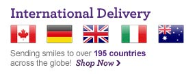 International Delivery Delivering smiles across the globe.