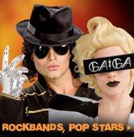 ROCKBANDS, POP STARS