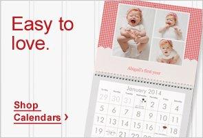 Easy to love. Shop Calendars