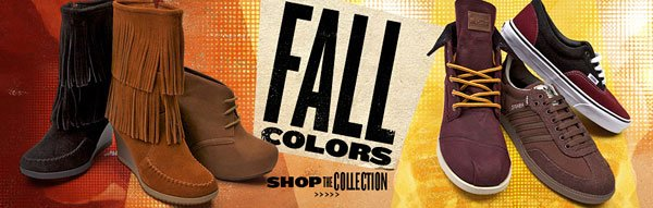 Shop Fall Colors at Journeys!