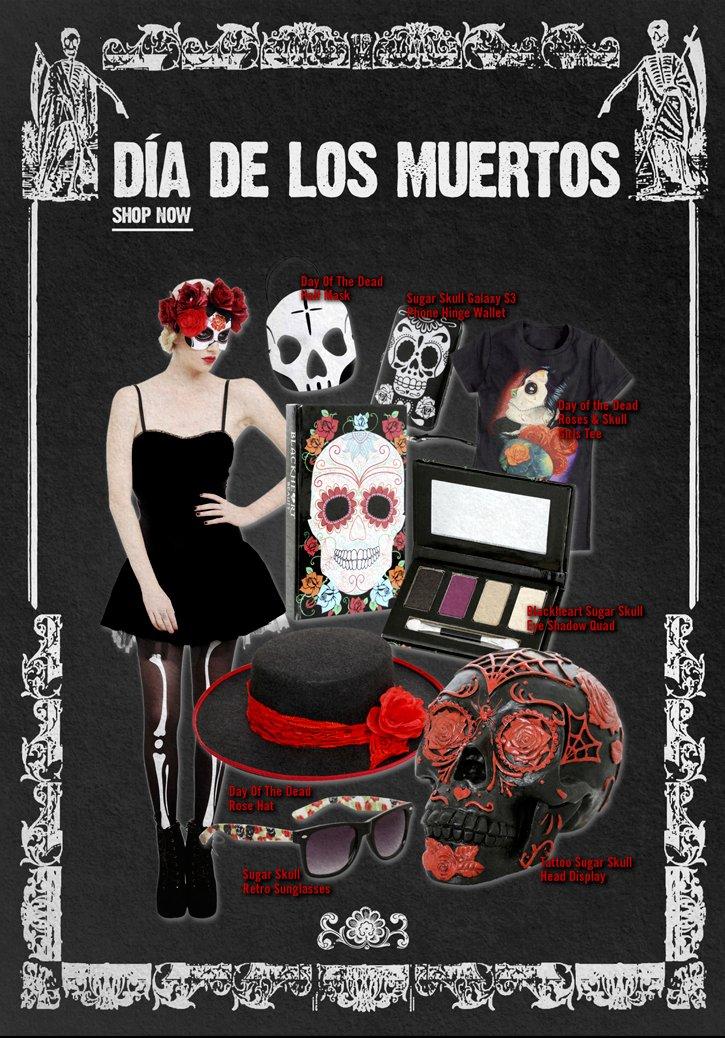 DIA DE LOS MUERTOS - SHOP NOW