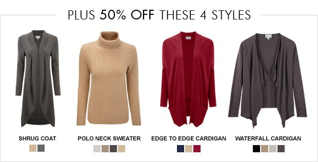 Download Images:  Shop our new Gassato cashmere with 25% off plus free delivery and returns