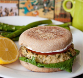 Lemon Tuna Burger_NLsm