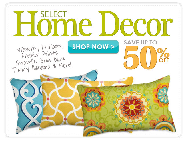 Up to 50% off Select Home Decor Fabrics