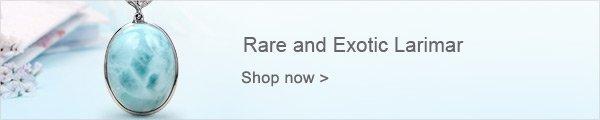 Rare and Exotic Larimar