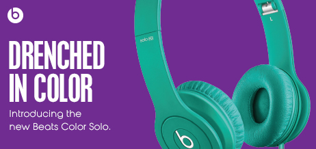 Introducing the new Beats Color Solo.