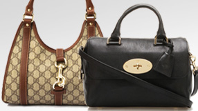 Gucci and Mulberry Handbags