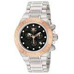 Invicta 10844 Men's Subaqua Noma Sport Black Dial Rose Gold Tone Bezel Chronograph Watch