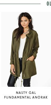 Nasty Gal Fundamental Anorak