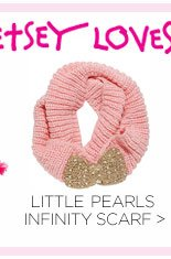 Shop Little Pearls Infinity Scarf