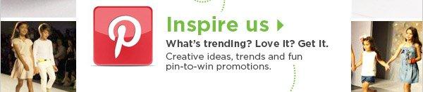 Pinterest   Inspire us
