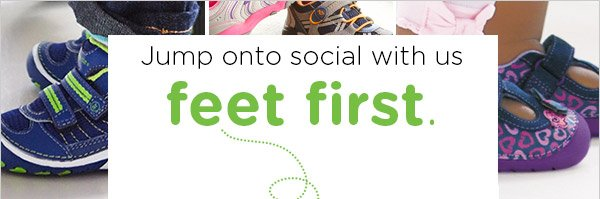 Jump onto social with us feet first.