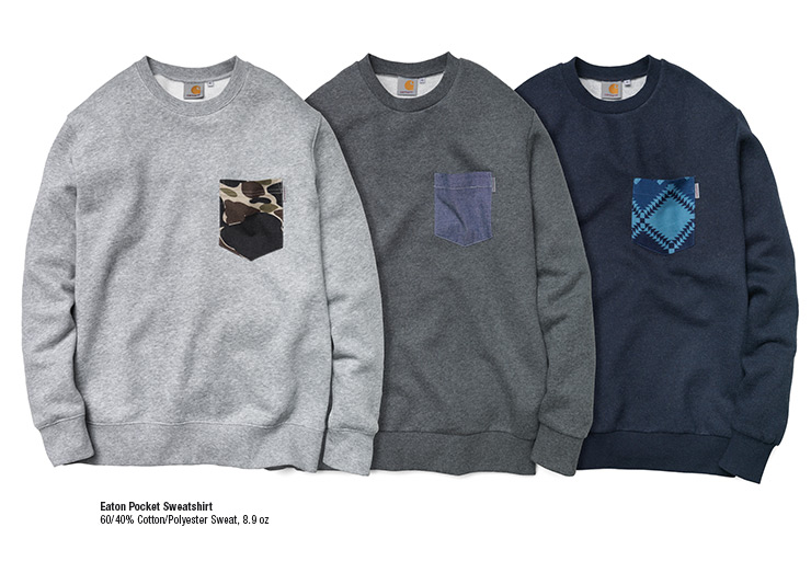 Eaton Pocket Sweatshirt